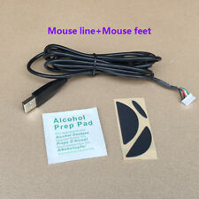 NEW Logitech MX518 G400/S Mice Repair kits:USB mouse cable/Line&Mouse Feet/Skate