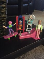 McDonalds Barbie Happy Meal Toys- Kelly&Stacie, Set Of 4