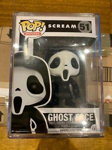 Funko POP! Movies Scream GhostFace #51 Vinyl Figure Vaulted Rare in Hard Stack
