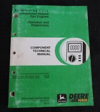2000 JOHN DEERE 9650 9750 STS COMBINE 6.8 8.1L GAS ENGINE OPERATION DIAG MANUAL