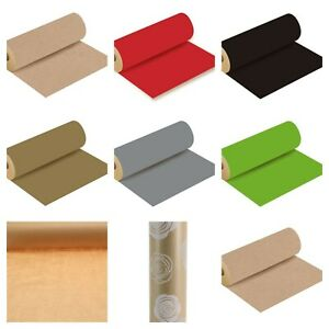 Coloured Kraft Paper Wrapping Paper 50cm width choose your length Biodegradable
