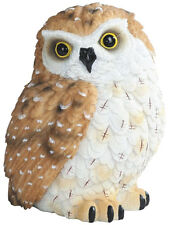 BROWN OWL    Small owl    statue figure   H5.75""