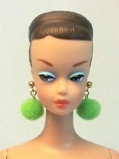 Barbie Doll Repro Vintage FR Handmade Big Earrings Jewelry Set NE100078