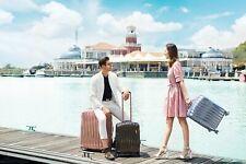 Verage Glitter Hartschale Reisekoffer Trolley SML Set TSA-Schloss erweiterbar