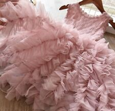Girls Kids Dress Fluffy Tutu Skirt Princess Party Costume Dress Skirt Ballet