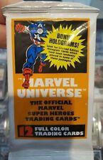 (1) 1990 Marvel Universe Tarjetas de Foto de película sin abrir Trading paquete de cera