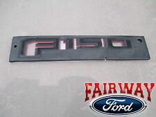15 thru 17 F-150 OEM Genuine Ford Special Edition RED Tail Gate Emblem Nameplate