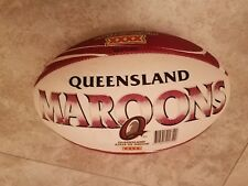 Queensland Maroons QLD State of Origin XXXX Rugby Ball Size 5 Vintage