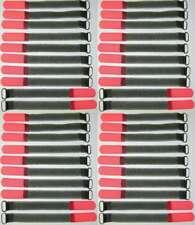 40 x SO Kabelklett Klettband 160 x 16 mm neon rot Klett Kabelbinder Klettbänder