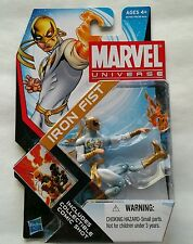 "Iron Fist ( 4"") Rare ( 2011 ) Marvel Universe ( Series #4 ) Action Figure #006"