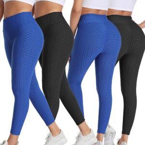 Women's High Waist Push Up Butt Lifter Sports Yoga Leggings Stretch Shaper Pants