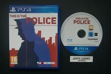 This Is The Police  PS4 Game - 1st Class FREE POSTAGE