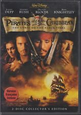 Pirates of the Caribbean: The Curse of the Black Pearl (DVD, 2003,2-Disc