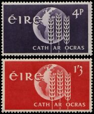 ✔️ IRELAND 1963 - FREEDOM FROM HUNGER - SC. 186/187 MNH OG [IR0150]