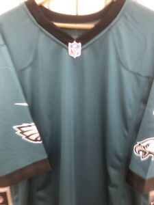 Nike NFL Philadelphia Eagles Blank Game Jersey  472807 339 New With Tags Size XL