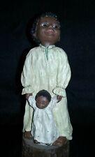 "All God's Children Black Americana Miss Martha Holcombe ""Olivia"" #9 Free Ship"