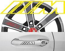 4 x Türgriff- Felgen Aufkleber BMW M 002 #1729