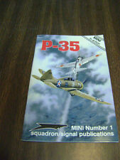 """P-35 """"Mini"""" in Action by Larry Davis (1994, Paperback)"""