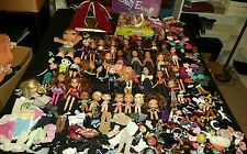 Gigantic Lot of BRATZ Dolls Accessories Shoes Clothes Some Rare Must See Pics!!!
