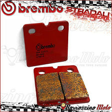 PLAQUETTES FREIN ARRIERE BREMBO FRITTE ROUGE NORTON F 1 1990 >