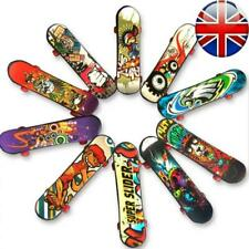 Finger Skateboard Fingerboard Skate Board Kids Table Deck Mini Plastic Toy