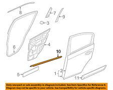 NISSAN OEM 07-12 Sentra Rear-Window Sweep Belt Felt Molding Left 82821ET000