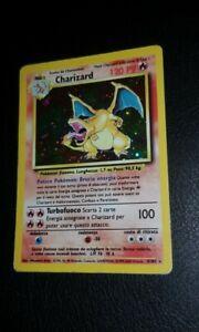 POKELOTTERIA: Charizard set base/Dark Charizard holo 1st