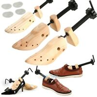 Unisex Women Men Wooden Adjustable 2-way Shoe Stretcher Shaper Expander USA
