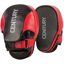 Century Drive Martial Arts Training Curved Punch Mitts - Red/Black