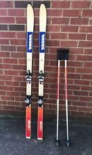 Vintage K2 USA 165cm SR-22 Skis -  Salomon 626 Bindings and K2 Poles