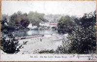 1911 Cincinnati, Ohio Postcard: On The Little Miami River