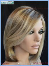 Pure Allure Lace Front  Monopart Wig Raquel Welch color R1621S Glazed Sand