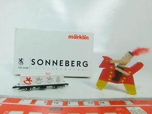 BP161-0,5# Märklin mini-club Spur Z/DC Containerwagen 650 J. Sonneberg, NEUW+OVP
