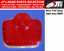 REAR TAIL LENS LIGHT LENS BACK BRAKE LAMP SUZUKI B120 M P Made in Japan