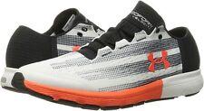 Under Armour Men's Speedform Velociti Athletic Shoes White/Black Size 12.0M