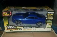 New Bright 61222W-3H Remote Control Ford Shelby GT350 Blue & Gray RC Car