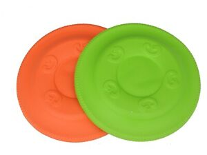 Fetch Flyer  PUP DOG Frisbee Very Flexible, Soft and Durable Dog Disc