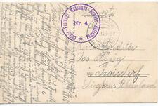 FREIBERG  Sachsen  Schöner  Truppenstempel  Feldpost  WW1 1915  AK Militar (87)