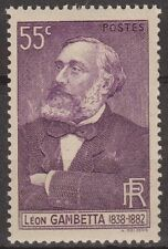 STAMP /  TIMBRE DE FRANCE NEUF N° 378 ** LEON GAMBETTA