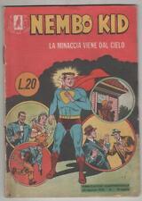 NEMBO KID albi del falco 20 LA MINACCIA VIENE DAL CIELO originale mondadori 1955