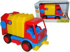 WADER Basics Müllwagen Müllauto LKW mit Mülltonne |waba