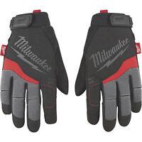 Milwaukee Men's Performance Work Gloves- Black/Gray/Red Large Model# 48-22-8722