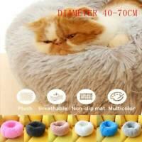 Pet Plush Mat Dog Cat Bed Nest Soft Warm Fluffy Cushion Puppy Mat Nest Washable