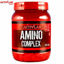 Amino Complex 300Tab BCAA Glutamine Acids Muscle Anabolic Daily Whey Protein
