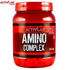 Amino complexe 300Tab BCAA Glutamine Acides Musculaire Anabolisant quotidienne de protéines de lactosérum
