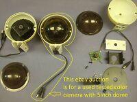 CCTV COLOR CAMERA WITH 5 INCH DOME, 4201C2H1A1, 6568E,