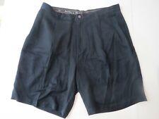 Tommy Bahama Black Silk Shorts 36 Pleated