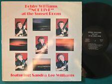 BOBBY WILLIAMS Not Live LP PRIVATE AOR ssw Modern Soul Funk Rare HEAR Listen Mp3