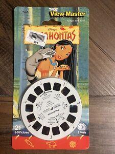 Vintage 1995 View-Master 3-D Reels - POCAHONTAS Disney Movie