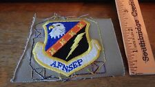 USAF PATCH 1ST AIR FORCE NATIONAL SECURITY EMERGENCY PREPAREDNESS BX 12 #11